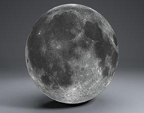 Moon Globe 23k 3D