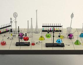 3D model Equipment Chemistry Laboratory