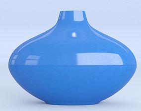 Blue Ceramic Vase 3D model