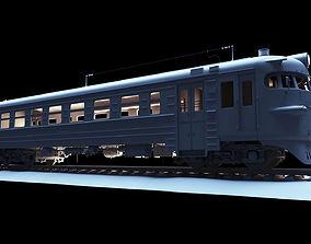 mechanism 3D USSR train ER9P 132 electro train