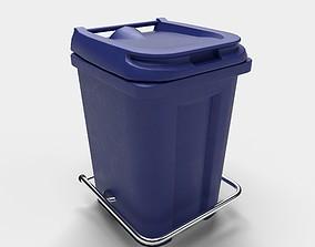 Hospital Waste Bin 3D model