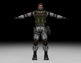 Stalker - Monolith Soldier 02 3D model