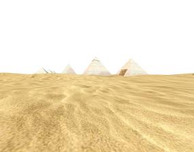 3D model Terrain beach