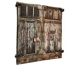 Factory Building 01 Doors 01 3D model