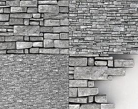 3D Wall stone clincer rock decor n2