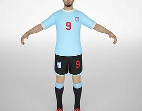 3D model Luis suarez