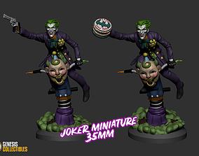 3D print model Joker Miniature 2 Versions