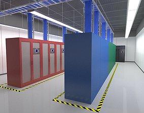 Computer Server Room 3D model