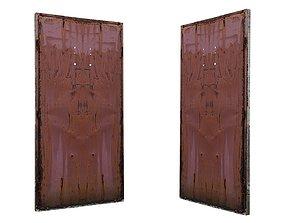 3D model Metal Door 01 02
