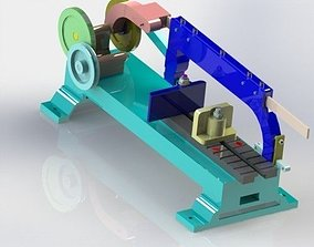 3D model Sawing machines