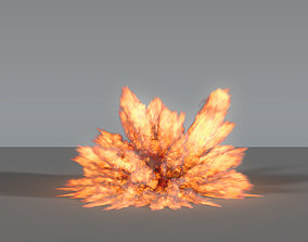 3D model Fire Explosion 02 - VDB