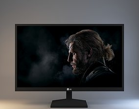 3D model MONITOR LG 24 Inches