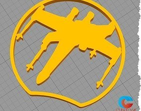 Disney Inspired Mouse Ear - Star Wars X-Wing 3D print 1
