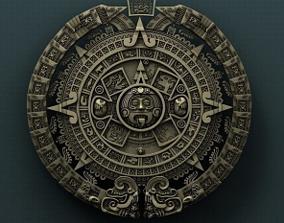 3D print model Mayan calendar shape