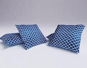 Contemporary Cushion 3dsmax 3D