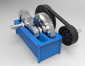 3D speed reducer