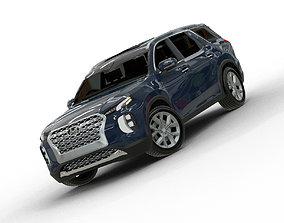 3D 2020 Hyundai Palisade