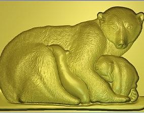 3D print model Polar bear model