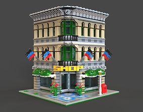 3D model Lego Shop