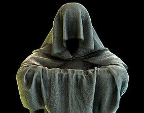 3D model Game-Ready Monk