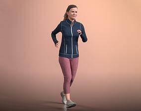 3D asset Nadin 20001-07 - Animated Jogging Girl