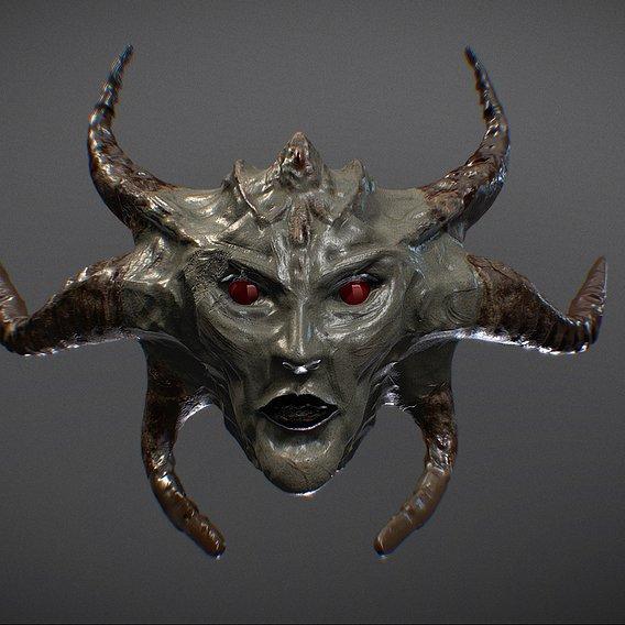 Monster Head 1