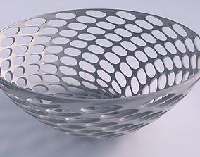 3D print model Bowl wide with bubble grid lattice