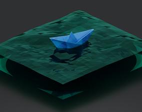 3D print model Paper ship