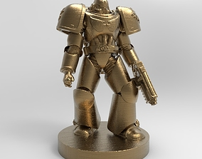 space marine from warhammer for 3d printing