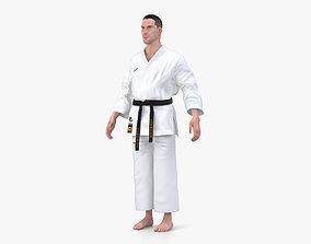 3D Karate Uniform