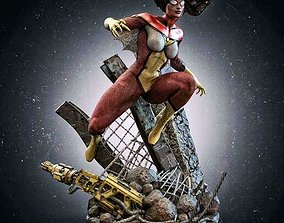 3D printable model spiderwoman SPIDERWOMAN