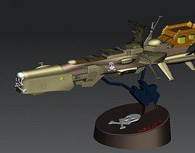 3D printable model Anime Captain Harok - Battle ship
