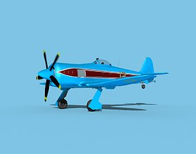 Hawker Sea Fury V21 Racer 3D model
