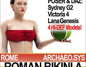 Ancient Roman Bikini A Props Poser Daz 3D model