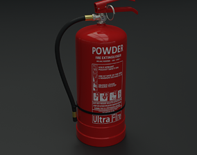equipment Fire extinguisher 3D