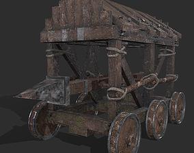 3D asset War Mechanism Battering Ram