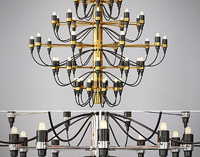 American Vintage Pendant Lamps 3D model