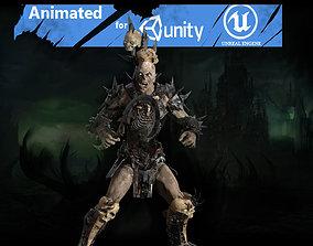 Ork necromancer 3D asset