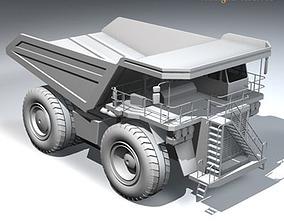 Mine dumper truck 3D