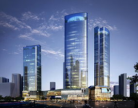 Skyscraper Business Center 3D model