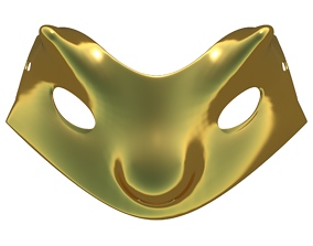 Carnival Mask 2 3D printable model