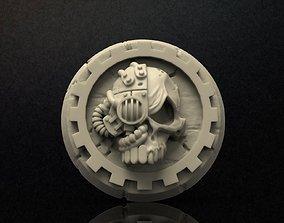 3D printable model Mechanicus logo