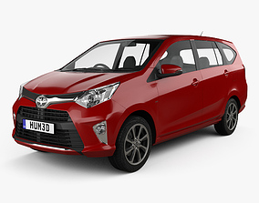 Toyota Astra Calya 2016 3D
