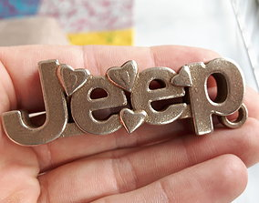 Jeep Keychain 3D printable model