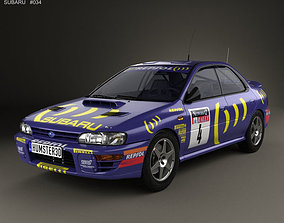Subaru Impreza WRC GC 1993 3D