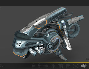 3D model Drone v7 Cybertech