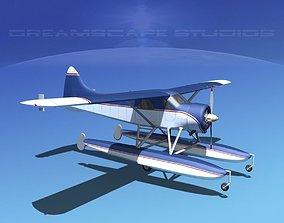 Dehavilland DHC-2 Beaver V03 3D
