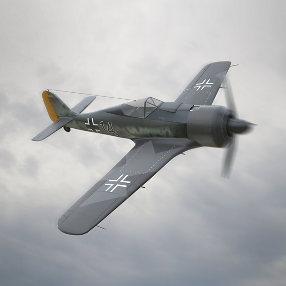 Focke-Wulf ww2 plane