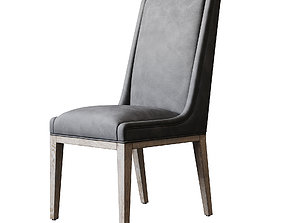 Rustic Dining Chair ID 147 3D model