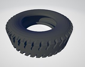 Printable 14th Scale hollow RC Truck Rear tyre print